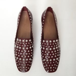 NEW Halogen Kaylee Studded Loafers Shoes Size 9.5